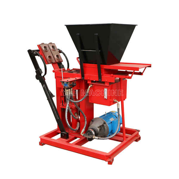 FL2-25A soil block moulding machine