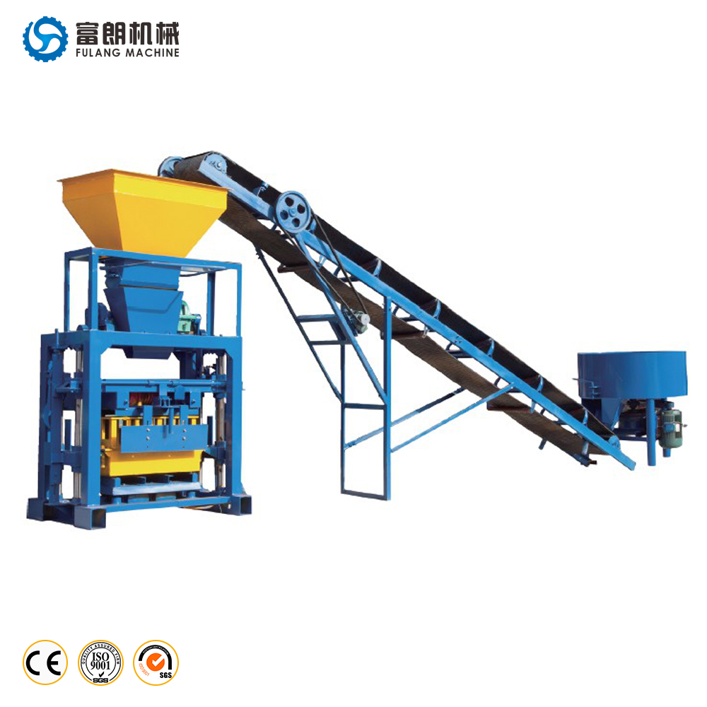 YLF40-1 manual concrete brick making machine