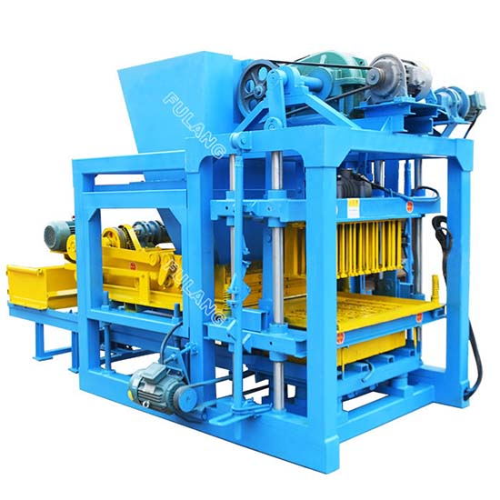 YLF4-25 improved concrete block manufacturing machine