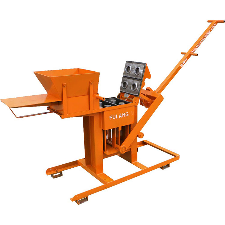 FL2-40 small manual brick making machine