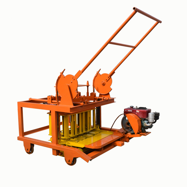 QTF40-3D cement block making machine