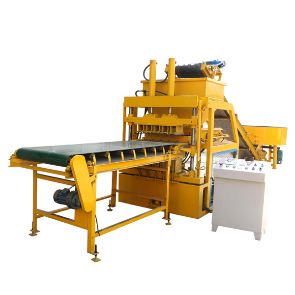 FL5-10 compressed earth brick making machine
