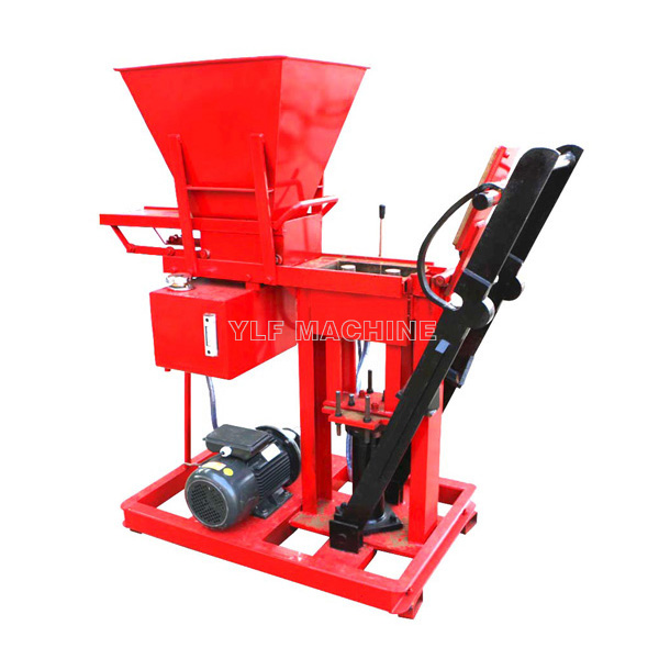 YLF1-25 soil interlocking brick machine