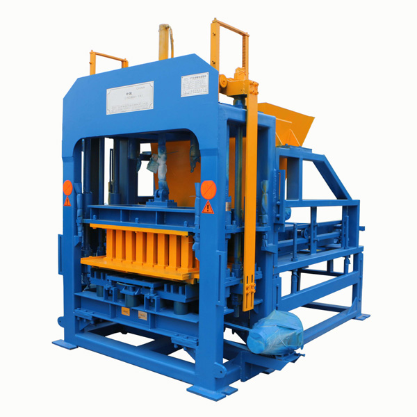 QTF4-15 cement hollow block making machine