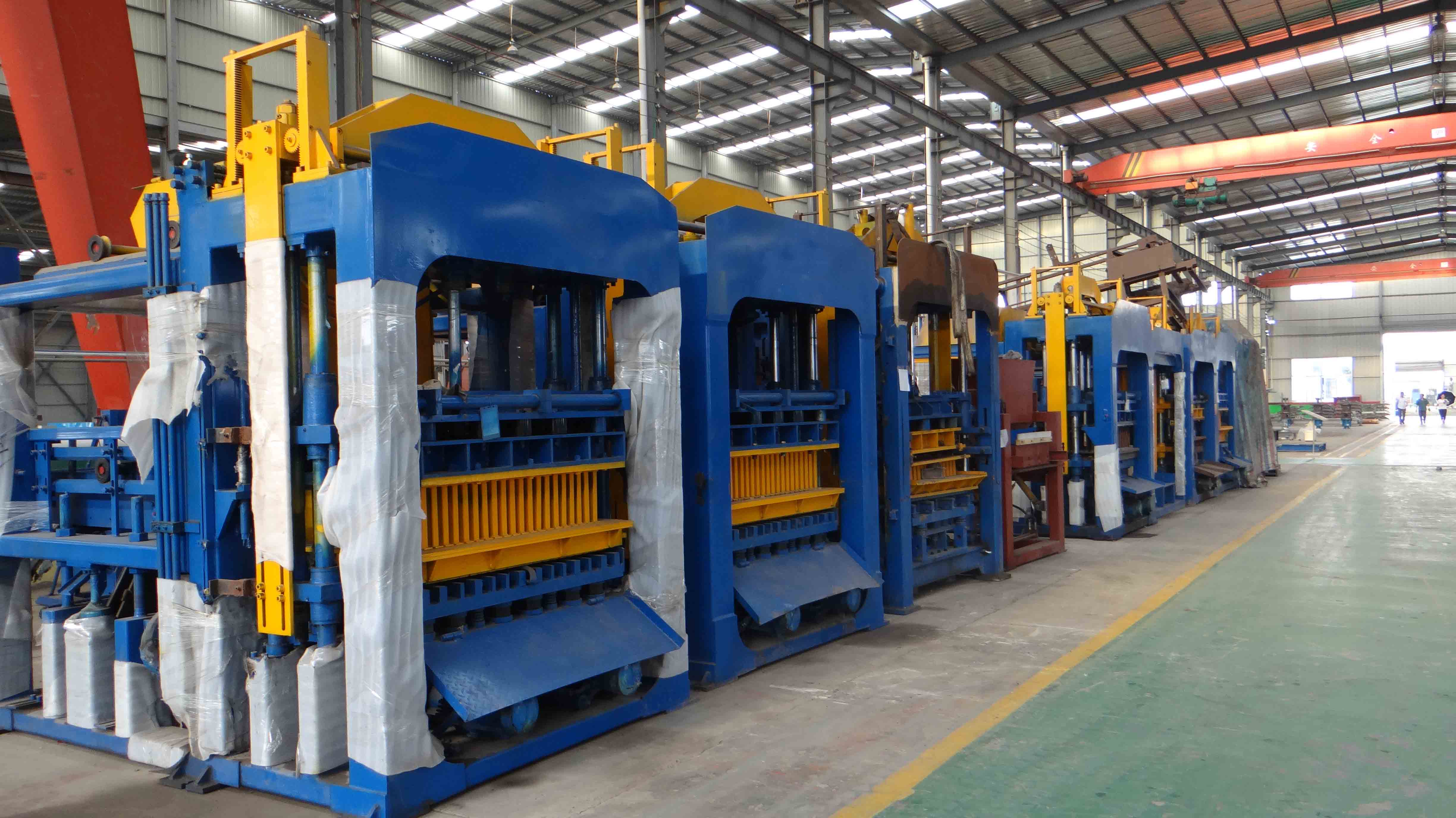 Choosing suitable block machine