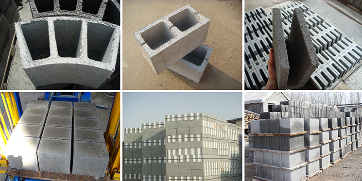 Raw material proportion in making concrete block