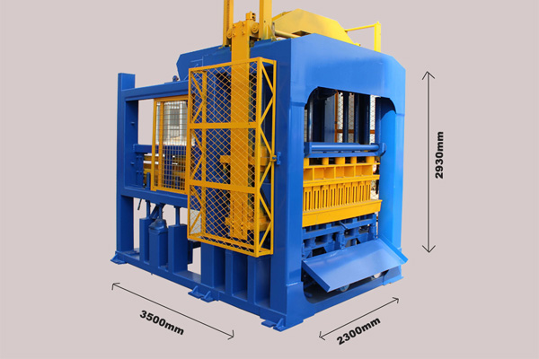 Germany technical concrete block making machine