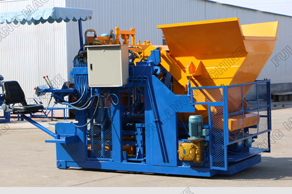 Different types of concrete block making machine
