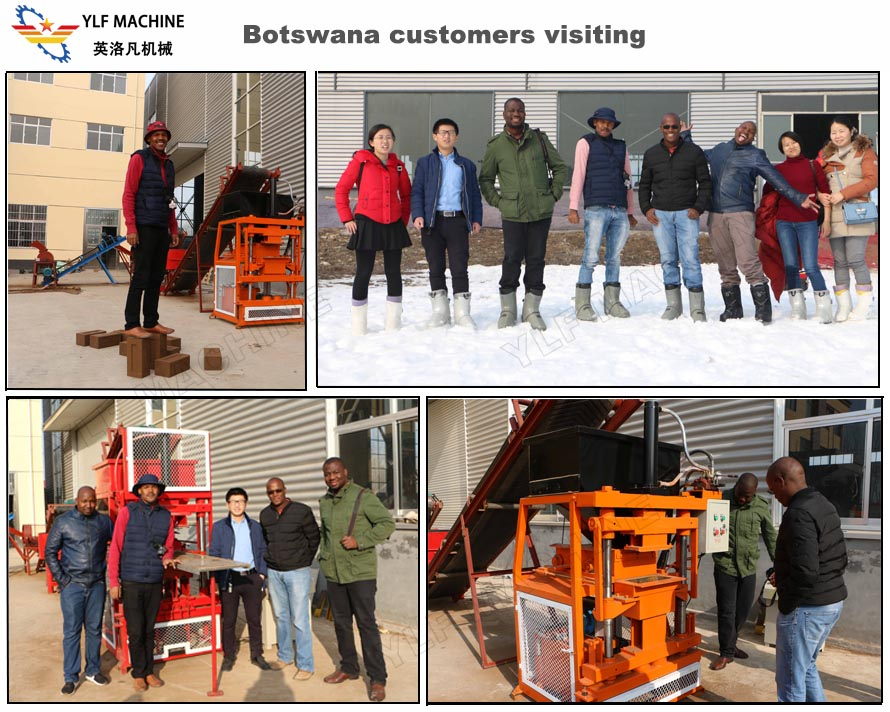 Botswana customers visiting