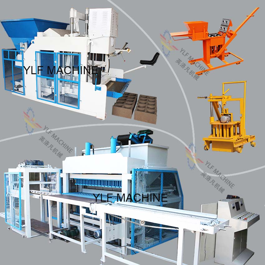 General Classification of Modern Brick Block Machines