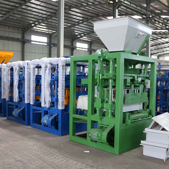 Several safety considerations about using block making machine